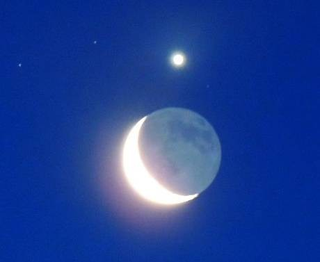 Moon Venus Conjunction